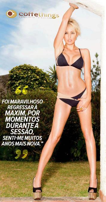 Marisa Cruz é capa da Maxim de Verão (todas as fotos)