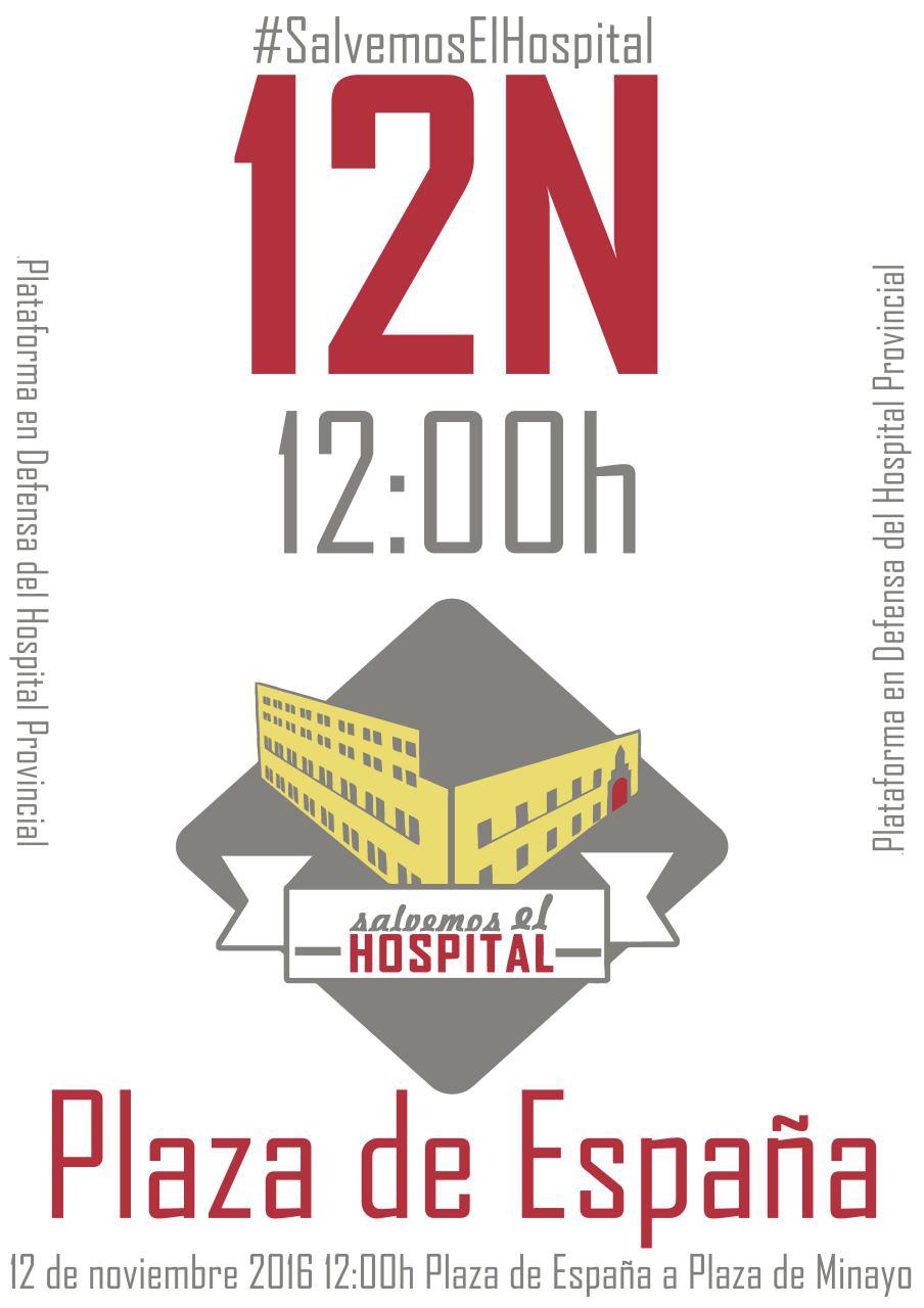 12 Noviembre Salvemos el Hospital