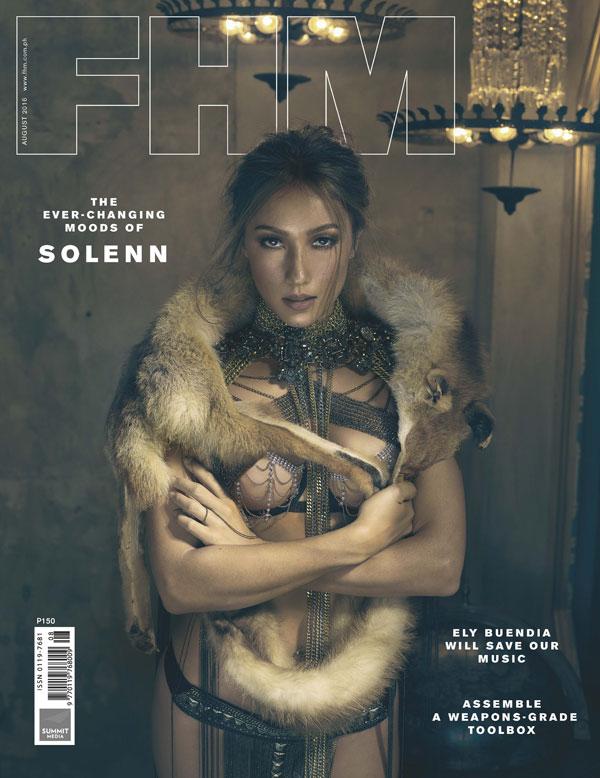 Solenn Heussaff FHM August 2016 Cover