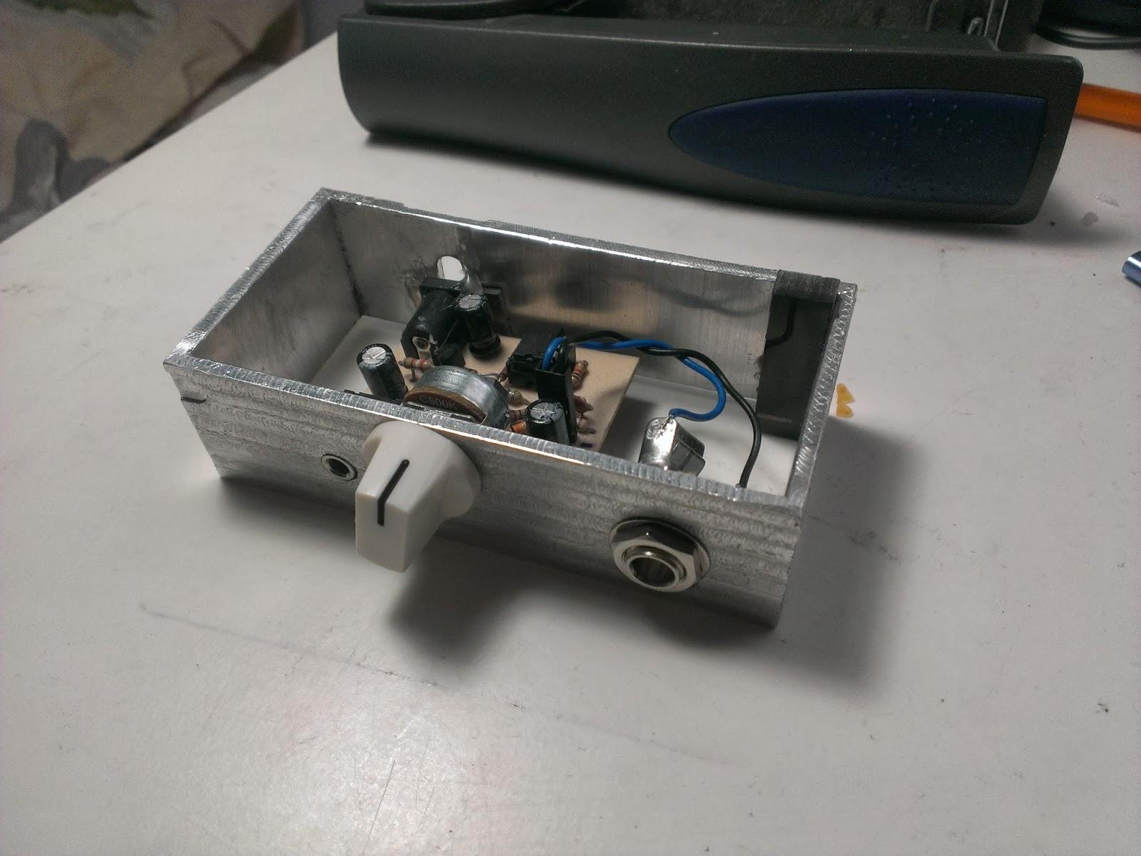 Misadventures A Fancier Bass Guitar Headphone Amp Tone Control Circuit For Amplifier Using 741