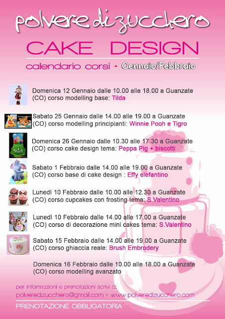 corsi di cake design lombardia polvere di zucchero