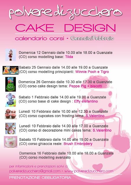 corsi di cake design: decorazione torte, biscotti, cupcakes, fiori di zucchero, modelling, ghiaccia reale
