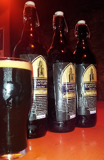 Stitch and Bear - Shandon Century stout from the Franciscan Well Brewery Cork