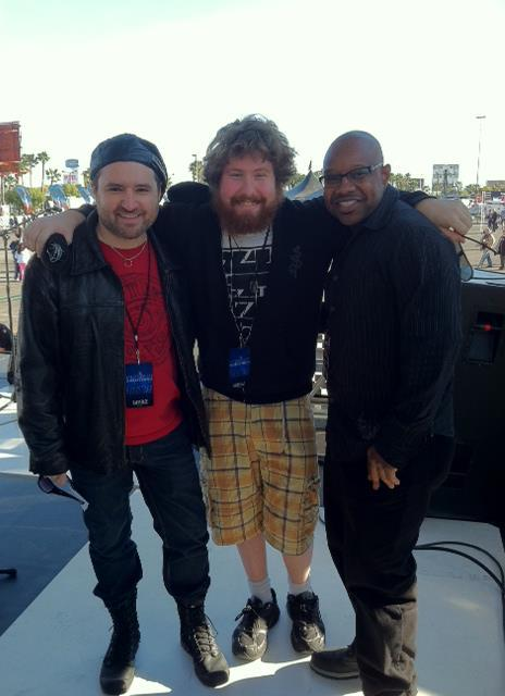 Tony Pulizzi-Casey Abrams-Stacey Lamont Sydnor-Cheap Trick-American Idol, Natalie Cole, TonyPguitar, American Idol, Gladys Knight, Tony Pulizzi Guitar
