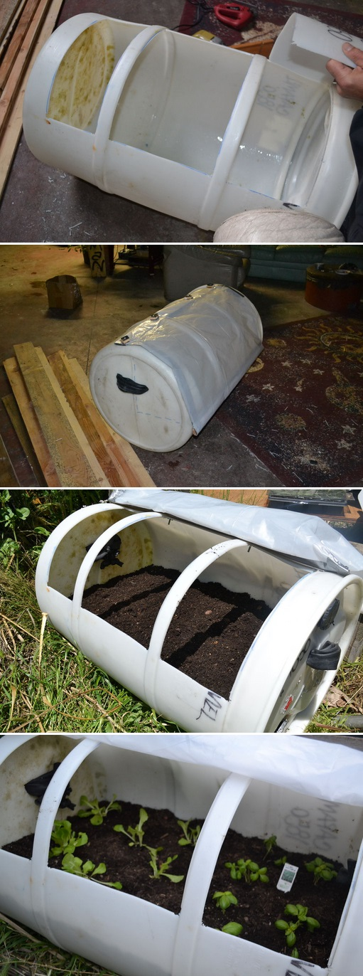 Easy way to build a small greenhouse for Easy to make greenhouse