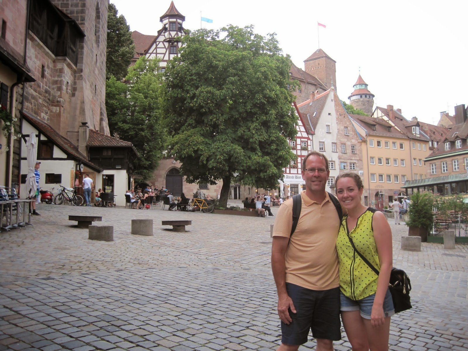 My dad and I in Nuremberg