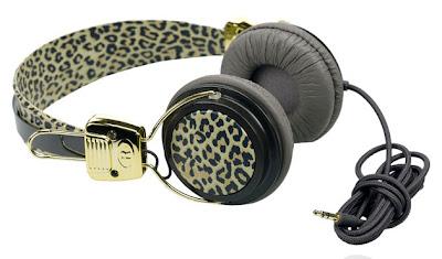 Auriculares leopardo