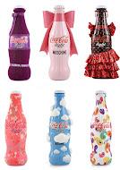 Embalagens de Coca-Cola desenhadas por designers famosos