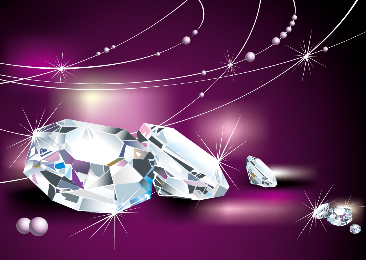 diamond vector background - photo #32
