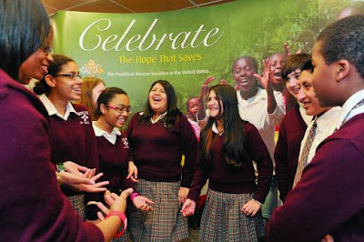 Estudantes celebram Paulina Jaricot nos Estados Unidos