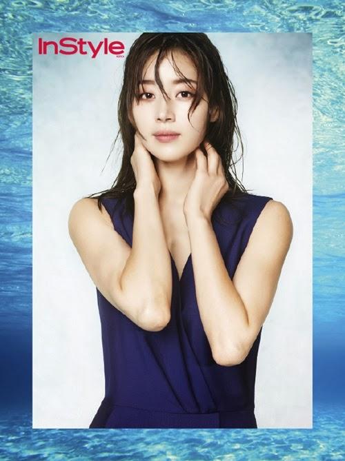 Han Ji Hye - InStyle Magazine March Issue 2014