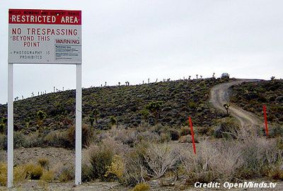 Use of Deadly Force Sign & Security – Area 51