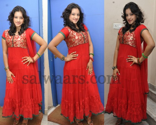 New Actress Crushed Salwar Kameez