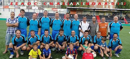 VETERANOS C.D. CAN PARELLADA TEMPORADA 2011-12