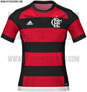 jual online Gambar jersey Flamengo home terbaru musim depan 2015/2016