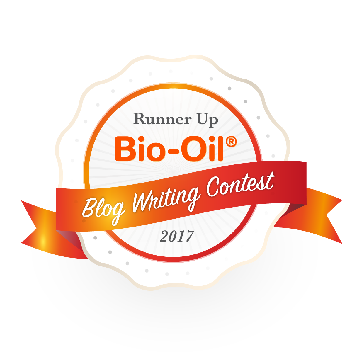 Runner Up Bio Oil Blog Writing Competition 2017