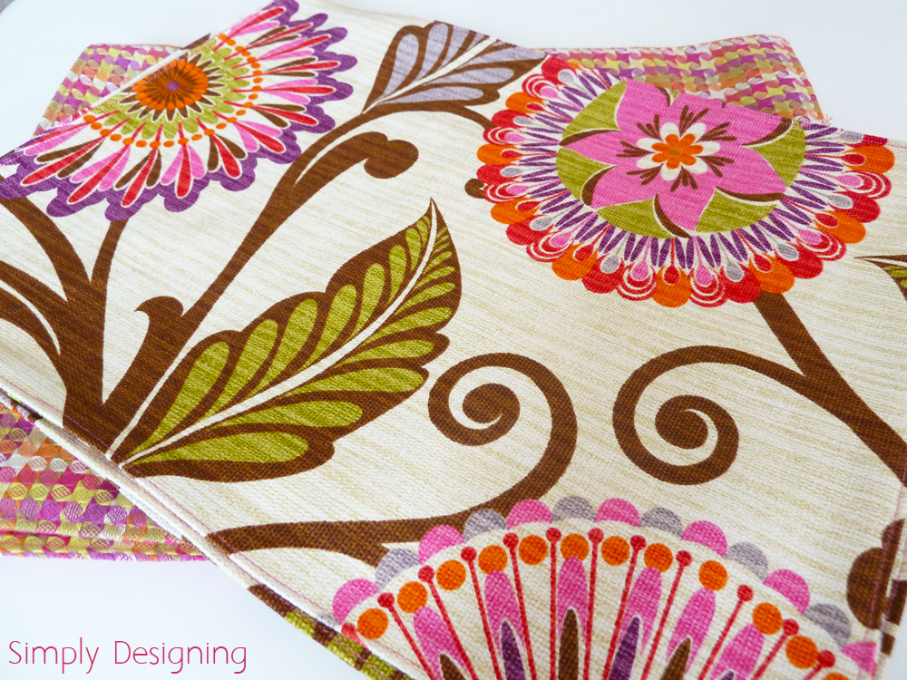 Hgtv Home Decor Fabric Placemats