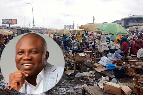 Governor Amobode Of Lagos State Shuts Down Oshodi Market Over Insecurity
