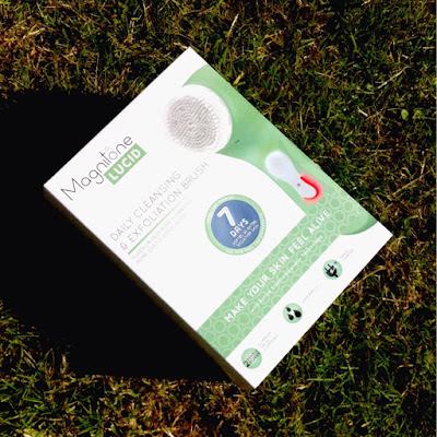 magnitone lucid cleansing brush review
