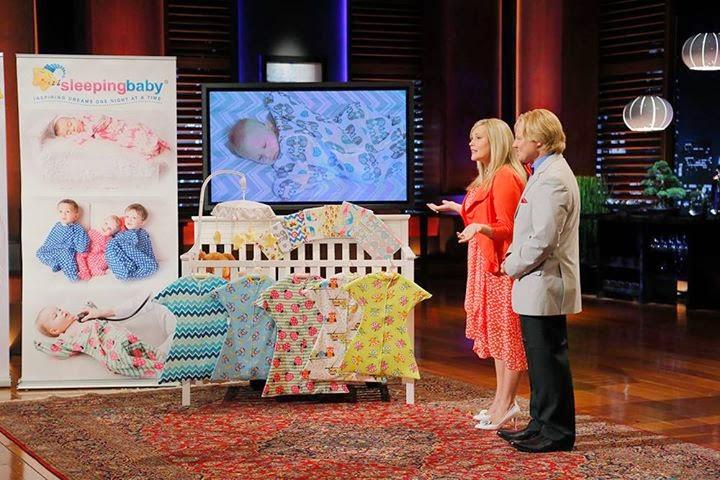 Wearable baby blankets seen in episode 602