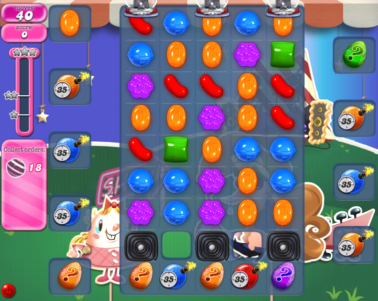 Level 407 | Candy Crush tips level 407