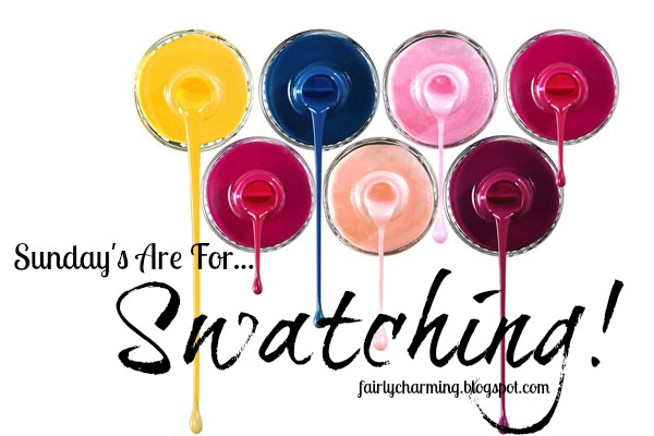 Sunday's Are For Swatching, swatch, swatches, church, fun, colorful, nail polish, nails