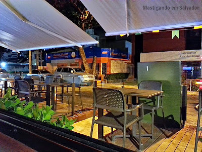 Zaccaria Bar: Ambiente externo