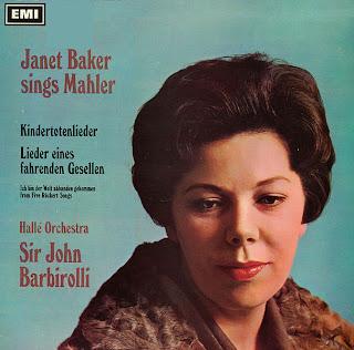 Janet Baker - Kindertotenlieder - EMI ASD 2338