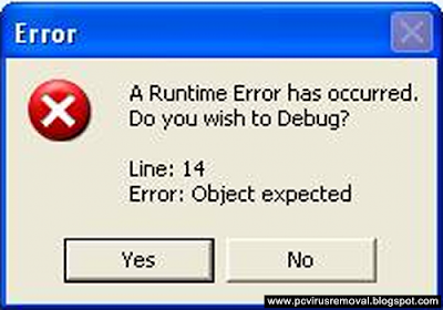 Runtime Error 217