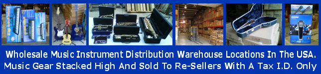 Wholesale Musical Instrument Distributor USA DropShipper MUSIC