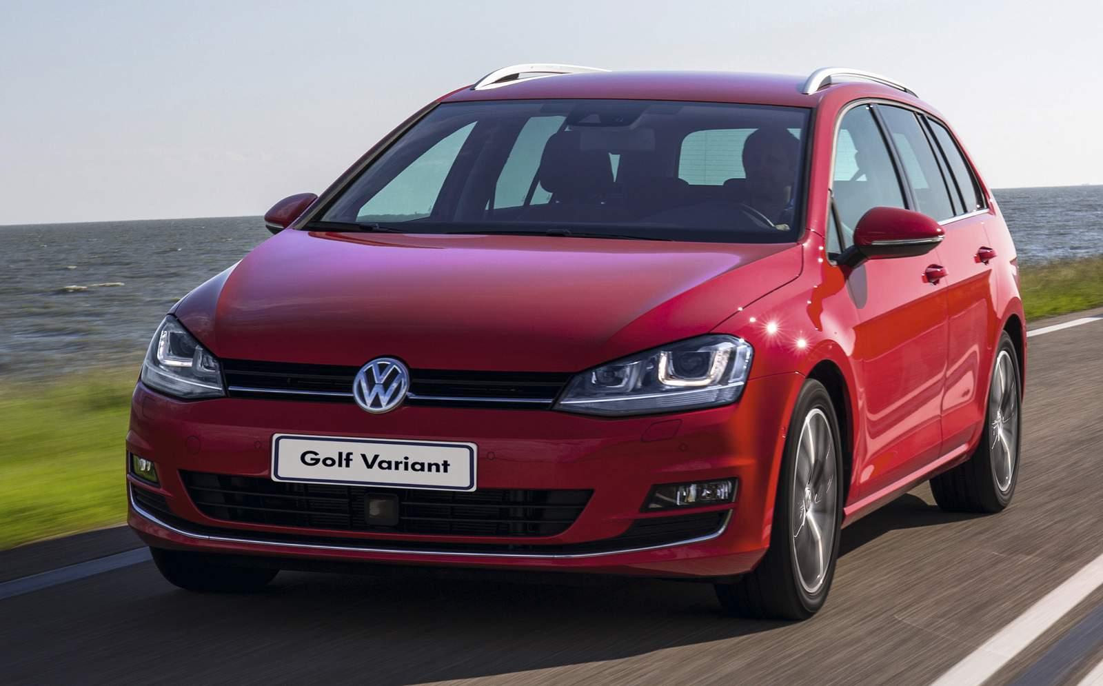VW Golf Variant 2017 ganha motor Flex e câmbio TipTronic