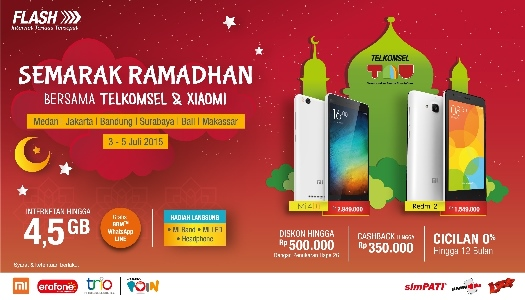 Semarak Ramadhan Telkomsel Xiaomi