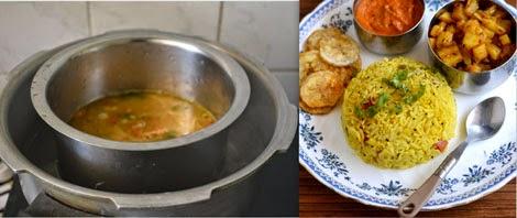 how to prepare sambar sadam in pressure cooker