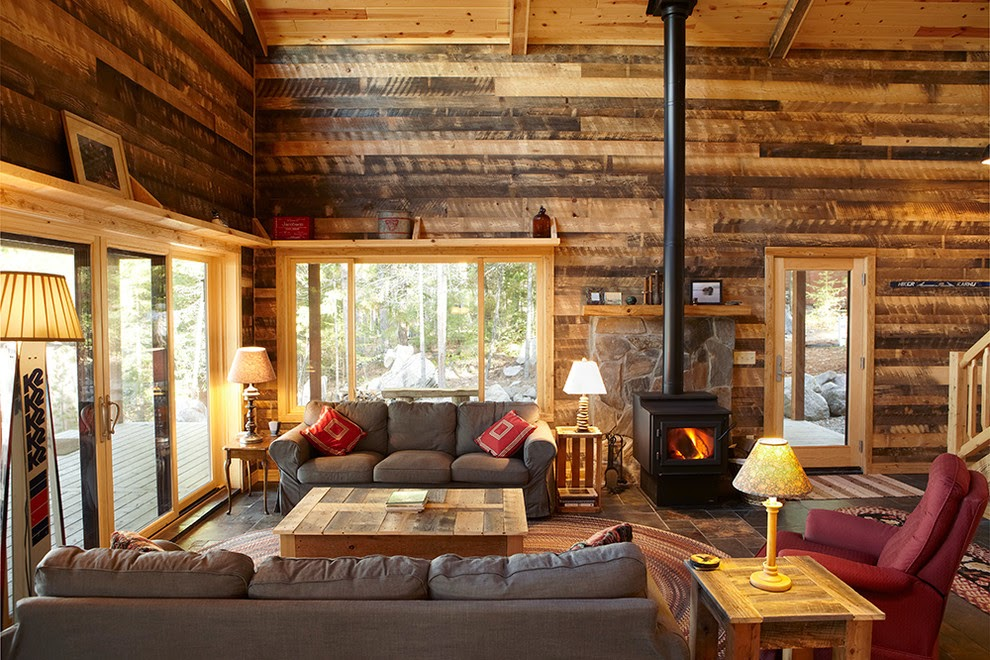 Natural A Rustic Lodge Style