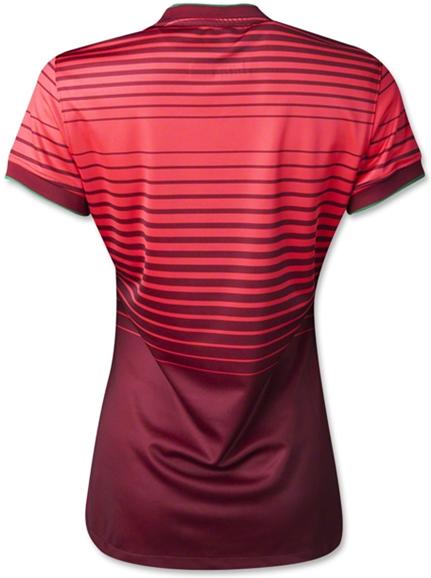 Jersey Negara Ladies Portugal Home Di Piala Dunia 2014 Terbaru Nike