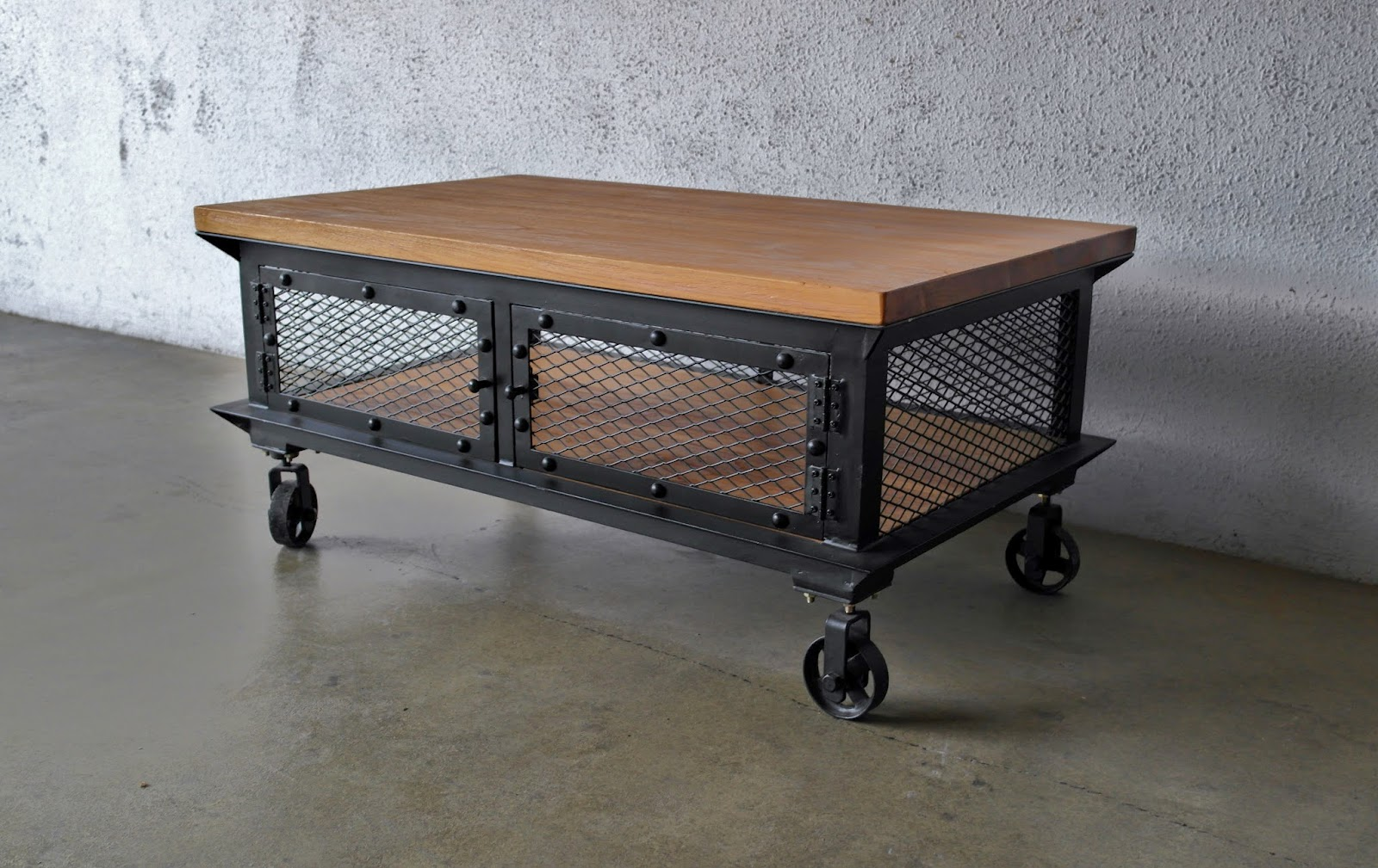 More Industrial And Metal Furniture From Second Charm