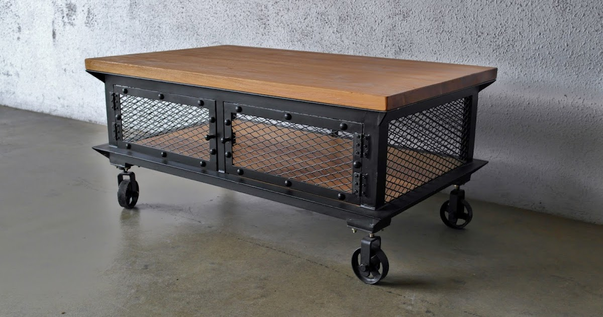 More Industrial And Metal Furniture on Industrial Coffee Table Furniture