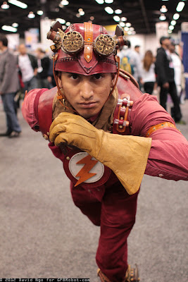 Steampunk version of DC Comics Flash