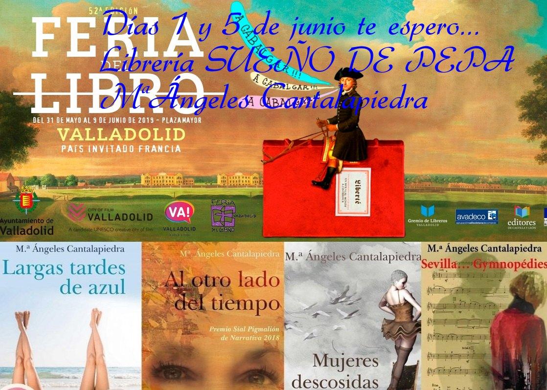 Feria del libro de Valladolid 2019