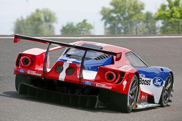 El nuevo Ford GT debutará mundialmente este fin de semana en las 24 Horas de Daytona