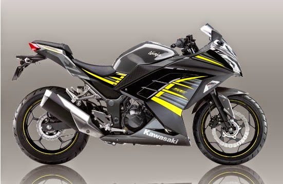 New Kawasaki Ninja 250 SE ABS Black Yelow