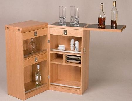 Decoraci n de interiores el mueble bar for Mueble bar para salon comedor