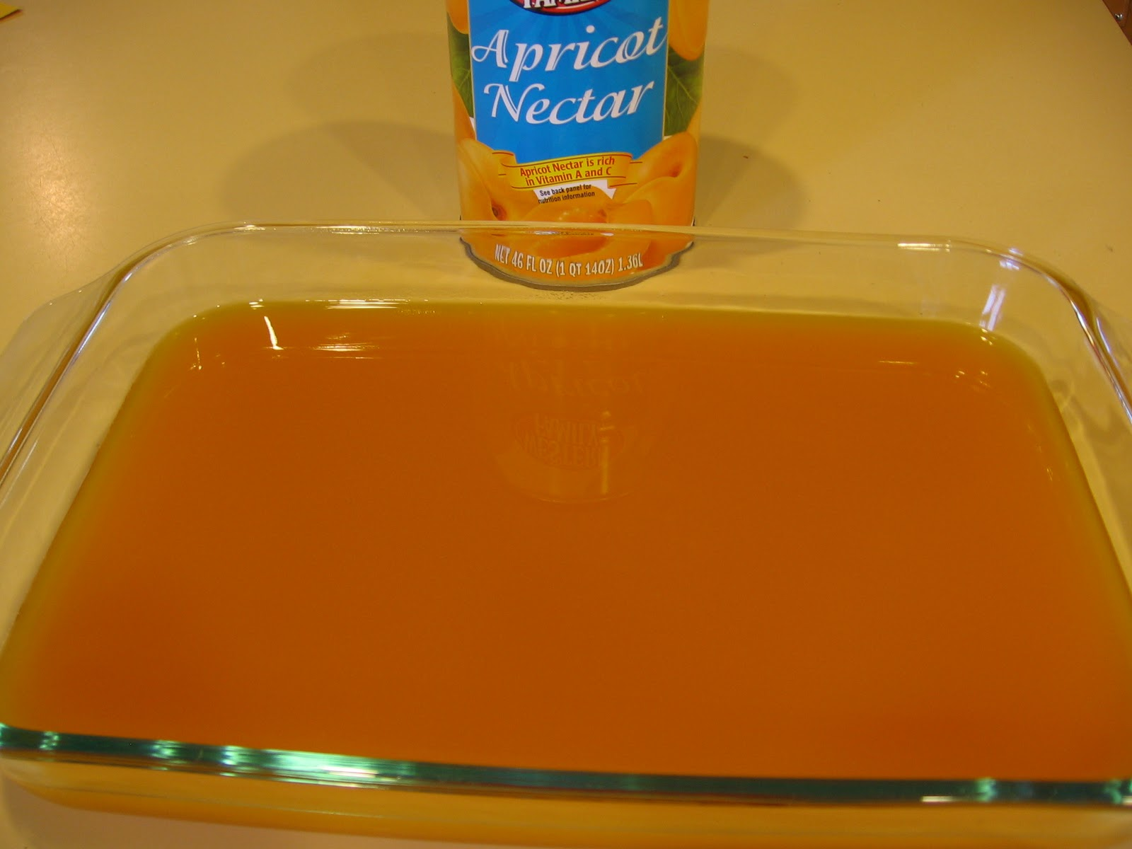 how to make and can apricot nectar