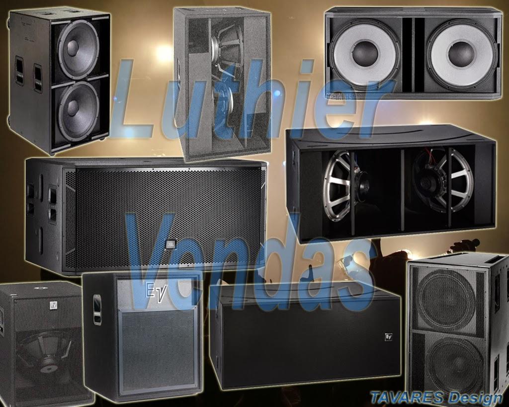 Projetos de caixa de som para Grave subgrave
