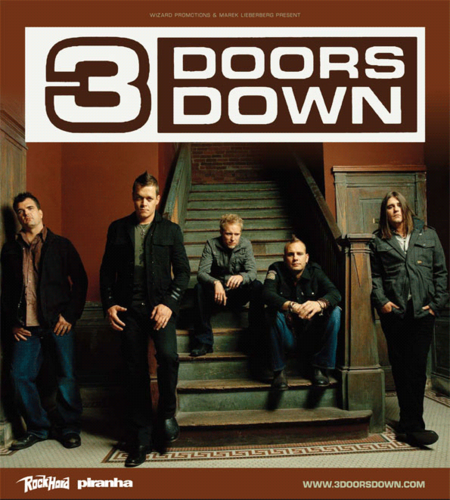 3 doors down seventeen day lyric: