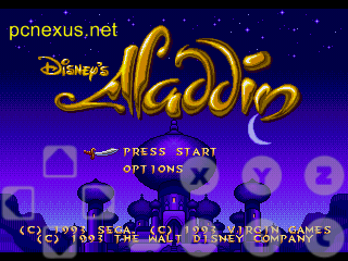 sega genesis aladdin on android