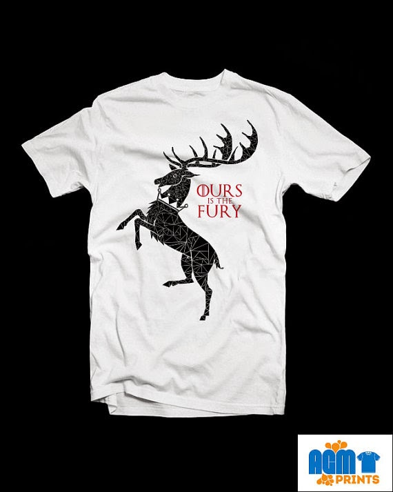 House Baratheon shirt from AGM Prints