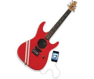 guitarra electrica con ipod