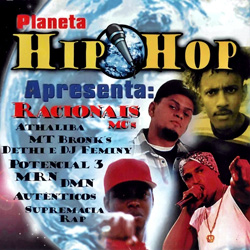 Capa CD Planeta Hip Hop Vol. 1 Baixar Cd MP3