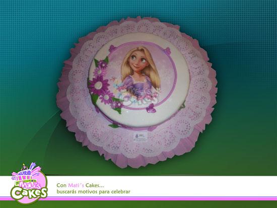 Mati´s Cakes: Torta De Rapunzel un piso